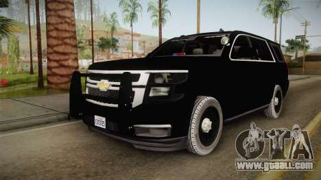 Chevrolet Tahoe 2015 Police for GTA San Andreas