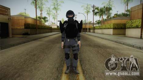 Mirror Edge Cop Heavy v1 for GTA San Andreas second screenshot
