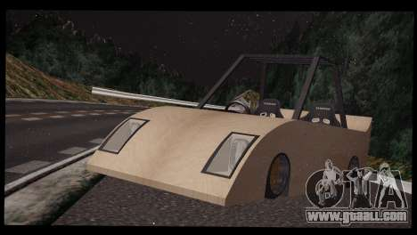 Nissan 180SX Plank for GTA San Andreas back left view