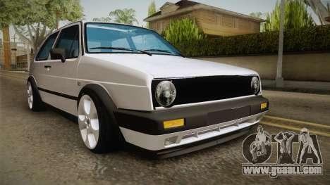 Volkswagen Golf MK2 2.0 TFSI Beta for GTA San Andreas