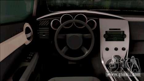 Dodge Caliber for GTA San Andreas inner view