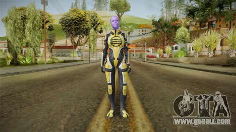 Mass Effect 2 Capitan Enyala for GTA San Andreas second screenshot