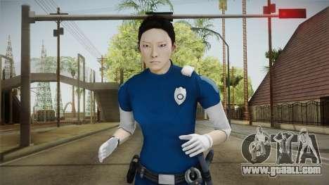 Mirror Edge Cop Patrol Female for GTA San Andreas