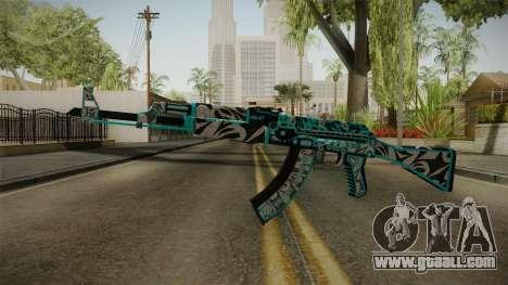 CS: GO AK-47 Frontside Misty Skin for GTA San Andreas