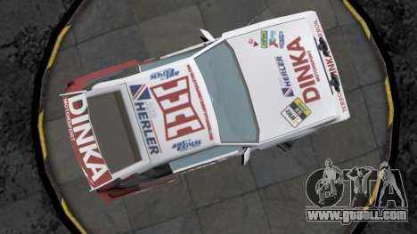 Dinka Blista Compact Rally Edition for GTA San Andreas inner view