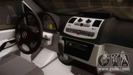 Mercedes-Benz Vito Algerian Police for GTA San Andreas inner view