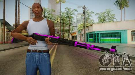 Purple Rifle for GTA San Andreas third screenshot