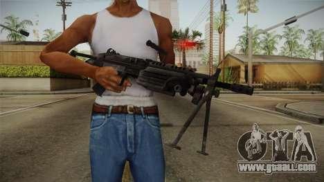 Mirror Edge FN Minimi for GTA San Andreas third screenshot