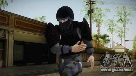 Mirror Edge Cop Heavy v1 for GTA San Andreas