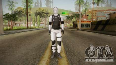 Mirror Edge Cop Pursuit Female for GTA San Andreas second screenshot