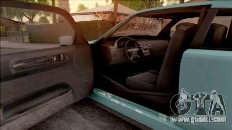 Bravado Buffalo from GTA V for GTA San Andreas inner view