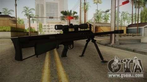 Mirror Edge Barrett M95 for GTA San Andreas second screenshot