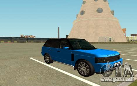 Land Rover Vogue for GTA San Andreas right view