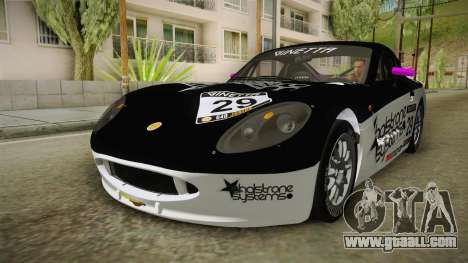 Ginetta G40 for GTA San Andreas bottom view