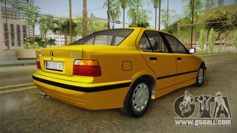 BMW 320i E36 for GTA San Andreas right view