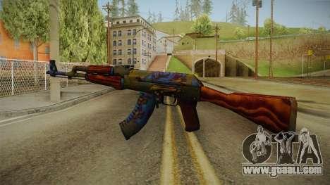 CS: GO AK-47 Case Hardened Skin for GTA San Andreas second screenshot