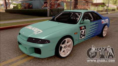 Nissan Skyline R33 Drift Falken for GTA San Andreas
