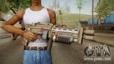 Joker Gun from Batman: Arkham Knight for GTA San Andreas third screenshot