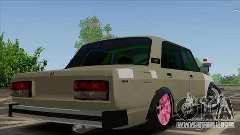 VAZ 2105 Combat Classics Customs for GTA San Andreas left view