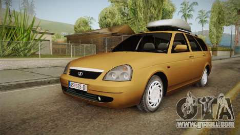 Lada Priora SW Sommerzeit for GTA San Andreas