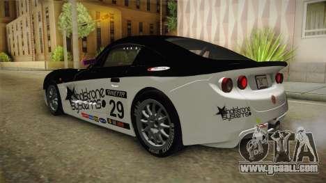 Ginetta G40 for GTA San Andreas interior