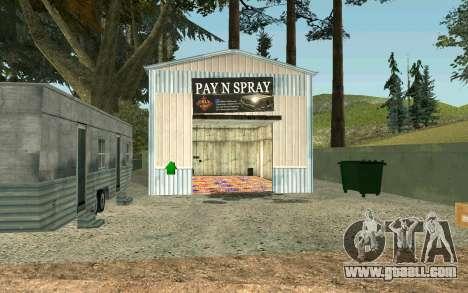 Rural businesses for GTA San Andreas second screenshot