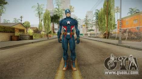 Marvel Heroes - Captain America for GTA San Andreas second screenshot
