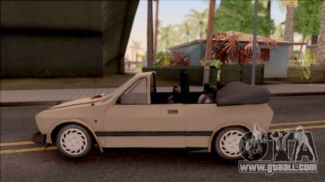 Yugo Koral 45 Kabrio for GTA San Andreas left view