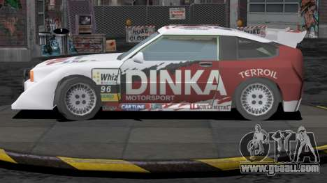 Dinka Blista Compact Rally Edition for GTA San Andreas right view
