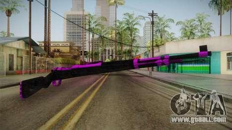 Purple Rifle for GTA San Andreas