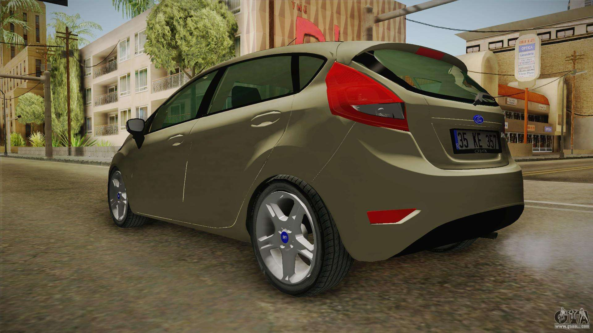 ford fiesta 1 4 tdci for gta san andreas. Black Bedroom Furniture Sets. Home Design Ideas