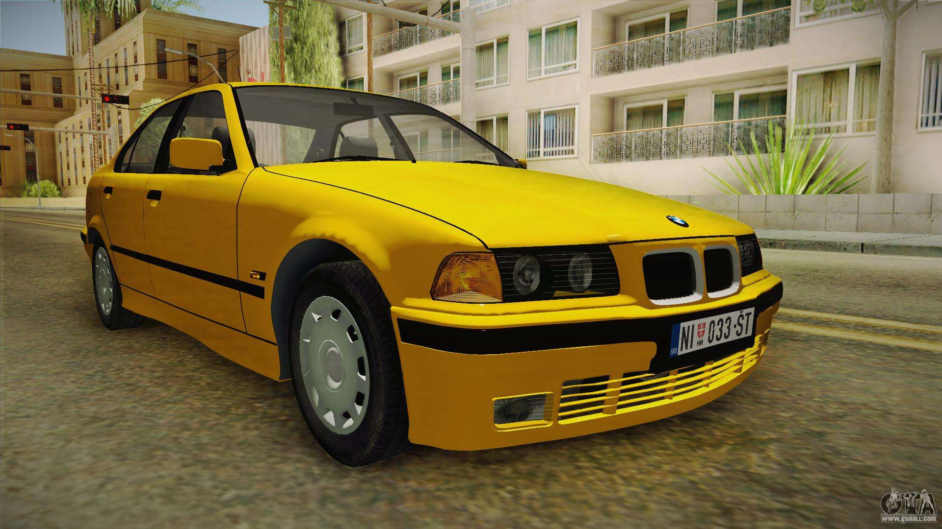 bmw 320i e36 for gta san andreas. Black Bedroom Furniture Sets. Home Design Ideas
