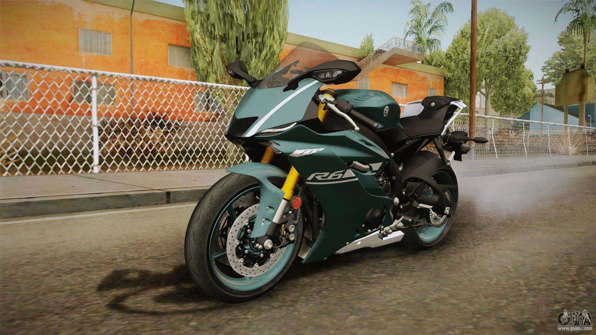 Yamaha R6 2017 for GTA San Andreas