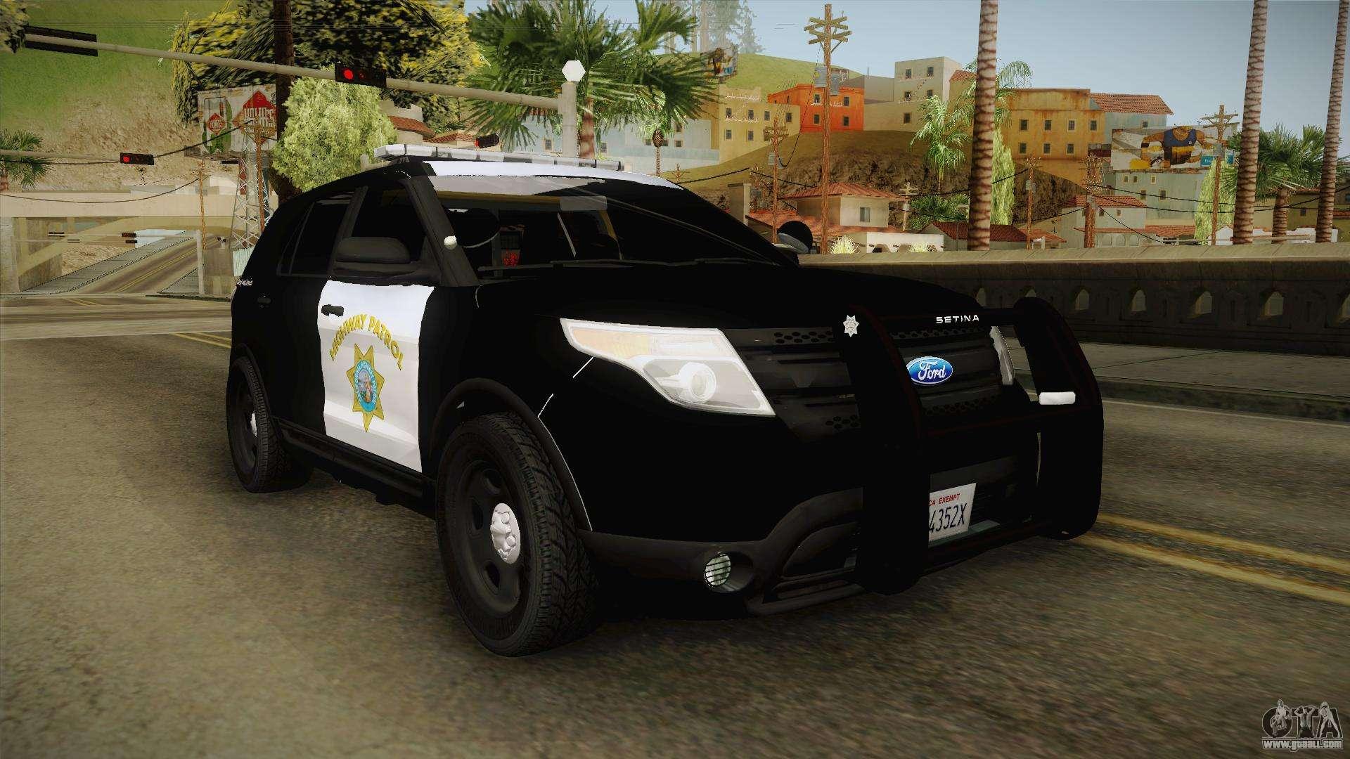 Ford Explorer Chp 2013 For Gta San Andreas