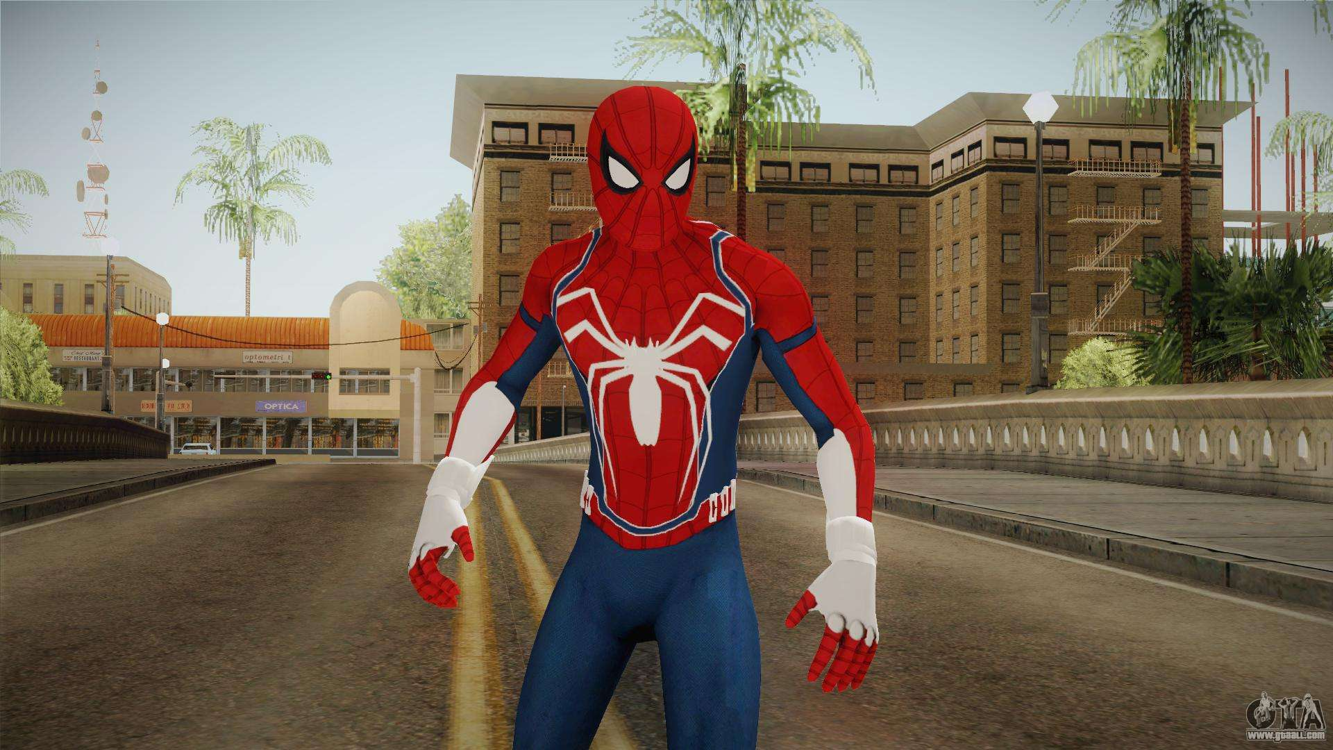 Marvel Spider-Man 2018 for GTA San Andreas