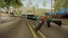 CS: GO AK-47 Aquamarine Revenge Skin for GTA San Andreas