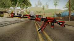 CS: GO AK-47 Bloodsport Skin for GTA San Andreas