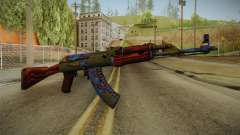 CS: GO AK-47 Case Hardened Skin for GTA San Andreas