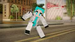 Minecraft Miku Skin