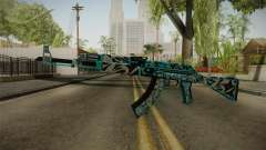 CS: GO AK-47 Frontside Misty Skin for GTA San Andreas