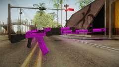 Purple AK47 for GTA San Andreas