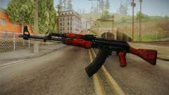 CS: GO AK-47 Red Laminate Skin for GTA San Andreas