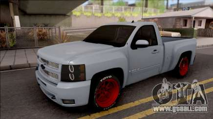 Chevrolet Silverado Single Cab for GTA San Andreas