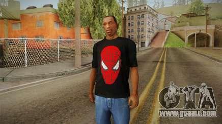 Spider-Man T-Shirt for GTA San Andreas