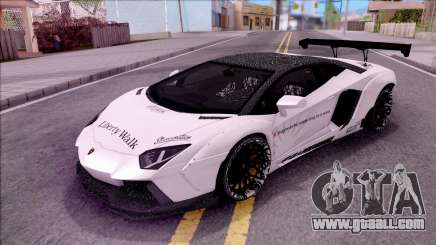 Lamborghini Aventador LP700-4 LB Walk Custom for GTA San Andreas