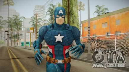 Marvel Heroes - Captain America for GTA San Andreas
