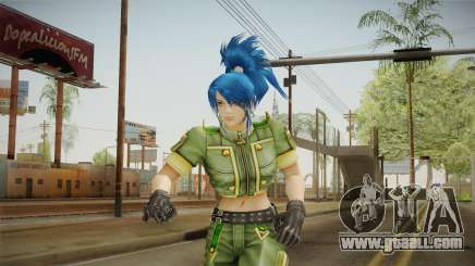 Leona Heidern Skin for GTA San Andreas