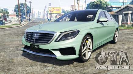 Mercedes-Benz S63 yellow brake caliper [add-on] for GTA 5