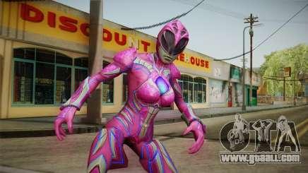 Pink Ranger Skin for GTA San Andreas