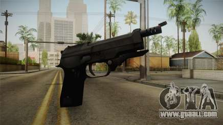 Mirror Edge Beretta M93R for GTA San Andreas